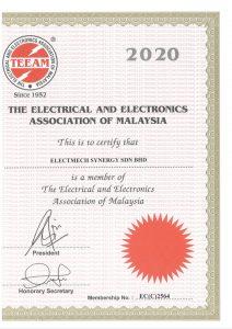 TEEAM Certificate